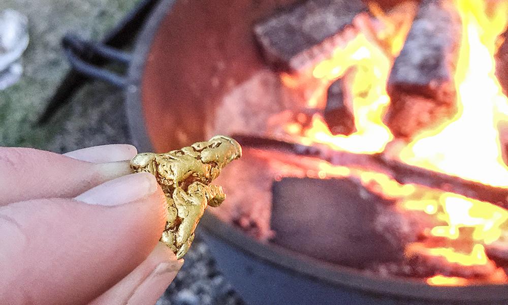 """""""Gorączka złota"""": poszukiwanie złota wśród groźnej przyrody"""
